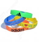 promotional silicone wristband with logo